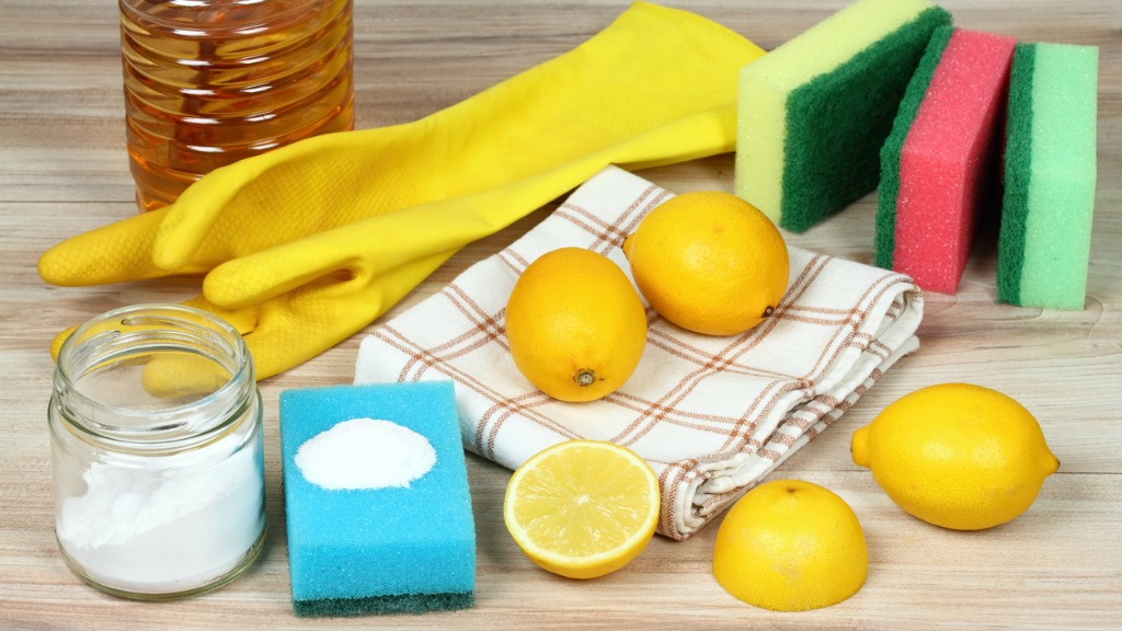Eco friendly natural cleaners home cleaning concept picture id913838972