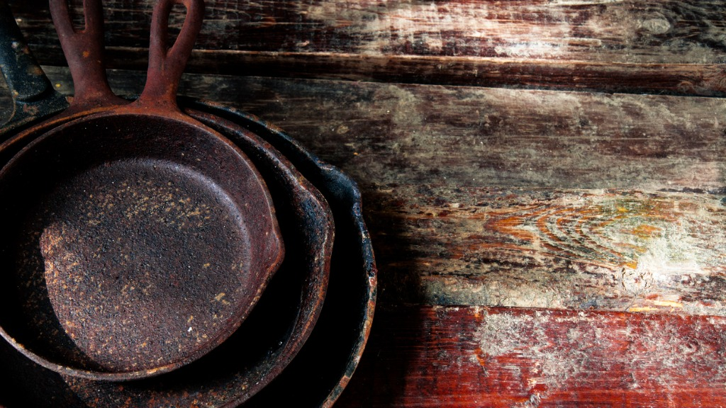 A small stack of pans picture id870250624