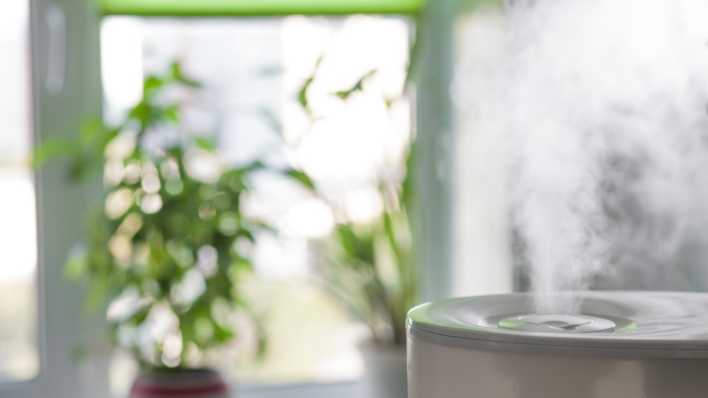 Humidifier spreading steam picture id607646922